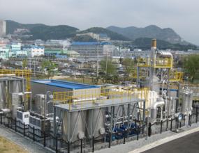 설비용량1.2MW (2010.5) 부산 사하구 부산환경공단 강변사업소 내 바이오가스 활용  ※ 국내 최초 Bio Gas를 이용한 연료전지 사례