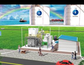 설비용량0.3MW (2014.12) 강원도 삼척 한국가스공사 / LNG 생산기지 내 BOG 활용  ※ 세계 최대 BOG를 이용한 연료전지 사례